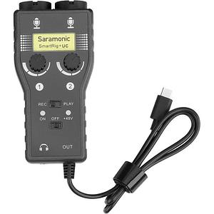 Saramonic SmartRig+ UC Interfaz de Audio de 2 canales USB tipo C