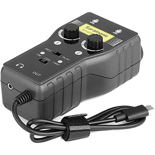 Saramonic SmartRig+ UC Interfaz de Audio de 2 canales USB tipo C - Image 2