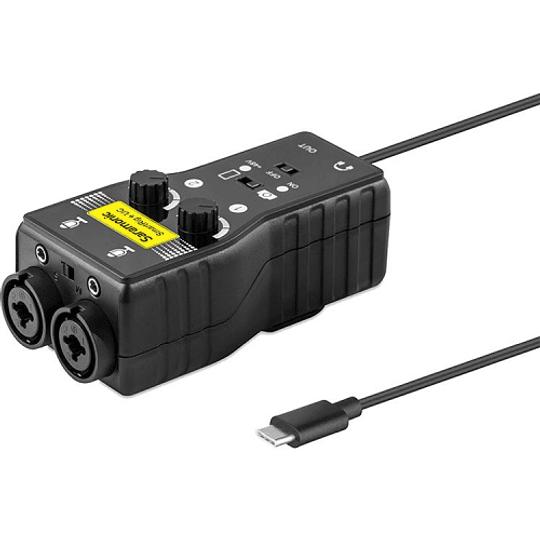 Saramonic SmartRig+ UC Interfaz de Audio de 2 canales USB tipo C - Image 4