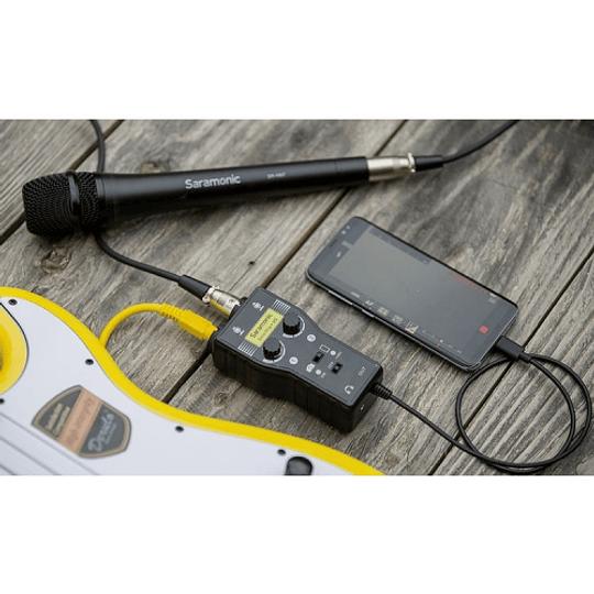 Saramonic SmartRig+ UC Interfaz de Audio de 2 canales USB tipo C - Image 5