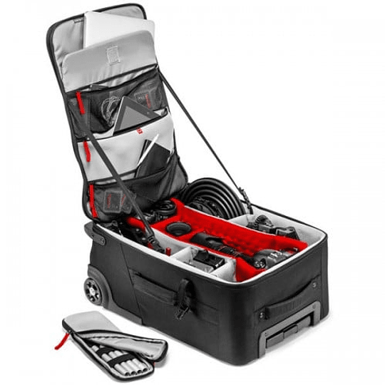 Maleta Profesional Manfrotto Roller Bag 70 en Negro - Image 7