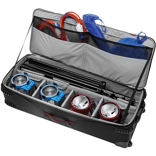 Manfrotto MB PL-LW-99 Pro-Light Rolling Lighting Gear Organizer V1 Maleta XL - Image 2