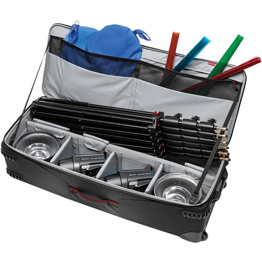 Manfrotto MB PL-LW-99 Pro-Light Rolling Lighting Gear Organizer V1 Maleta XL - Image 3