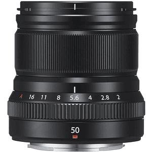 Fujifilm Lente XF 50mm f/2 R WR (Negro)
