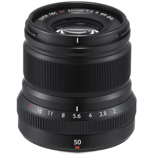 Fujifilm Lente XF 50mm f/2 R WR (Negro) - Image 2
