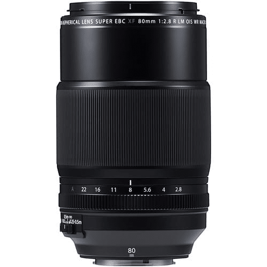 Fujifilm Lente Macro XF 80mm f/2,8 R LM OIS WR - Image 1