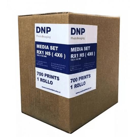 DNP RX1 6×4″ 1 Rollo de Insumo Fotográfico