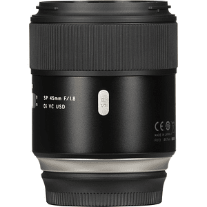 Lente Tamron SP 45mm f/1.8 Di VC USD para Nikon