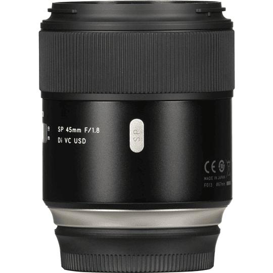 Lente Tamron SP 45mm f/1.8 Di VC USD para Canon - Image 1