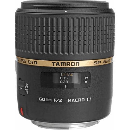 Tamron lente macro SP 60mm f/2 Di II 1: 1 para Nikon F - Image 1