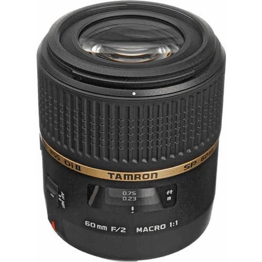 Tamron lente macro SP 60mm f/2 Di II 1: 1 para Nikon F - Image 2