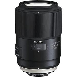 Lente Tamron SP 90mm f/2.8 Di Macro 1:1 VC USD para Canon