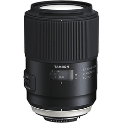 Lente Tamron SP 90mm f/2.8 Di Macro 1:1 VC USD para Nikon
