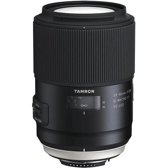 Lente Tamron SP 90mm f/2.8 Di Macro 1:1 VC USD para Nikon - Image 1