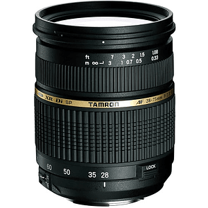 Lente Tamron Zoom Wide Angle-Telephoto AF 28-75mm f/2.8 XR Di LD Aspherical (IF)  para Canon