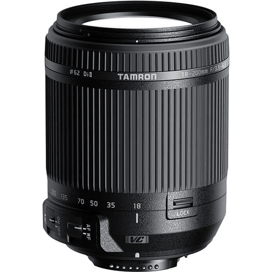 Lente Tamron 18-200mm f/3.5-6.3 Di II VC para Canon - Image 1