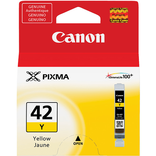Canon CLI-42 YELLOW Tinta (PIXMA PRO-100) - Image 1