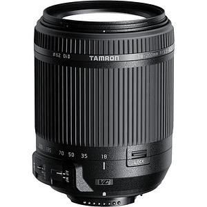 Lente Tamron 18-200mm f/3.5-6.3 Di II VC para Nikon