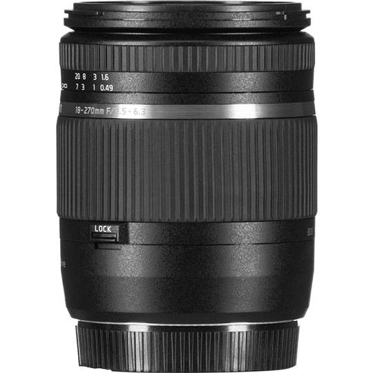 Lente Tamron AF18-270mm f/3.5-6.3 Di II VC PZD AF para Canon - Image 1