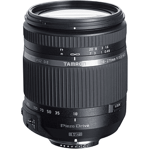 Tamron 18-270mm f/3.5-6.3 Di II VC PZD AF Lente para Canon