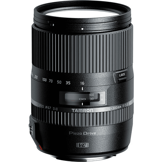 Lente Tamron 16-300mm f/3.5-6.3 Di II VC PZD MACRO para Canon - Image 1