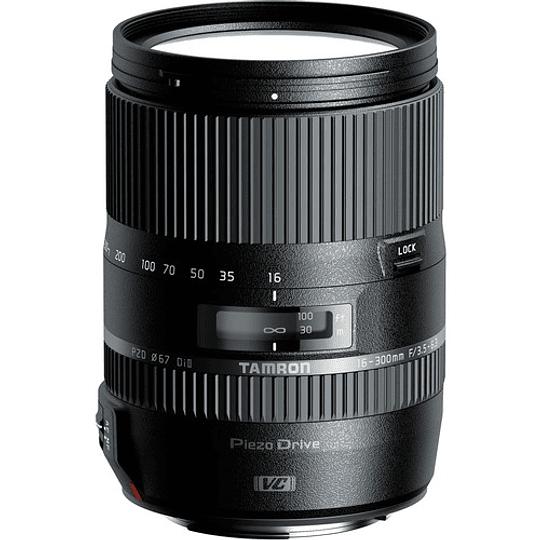 Lente Tamron 16-300mm f/3.5-6.3 Di II VC PZD MACRO para Nikon - Image 1