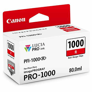 Canon PFI-1000 R Tinta RED LUCIA PRO (imagePROGRAF PRO-1000)