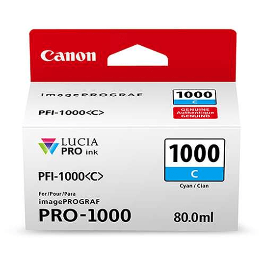 Canon PFI-1000 C Tinta CYAN LUCIA PRO (imagePROGRAF PRO-1000) - Image 3