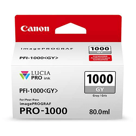 Canon PFI-1000 GY Tinta GRAY LUCIA PRO (imagePROGRAF PRO-1000) - Image 2