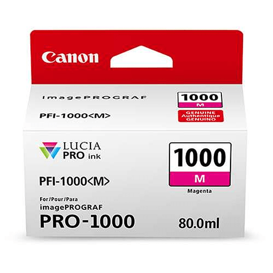 Canon PFI-1000 M Tinta MAGENTA LUCIA PRO (imagePROGRAF PRO-1000) - Image 2