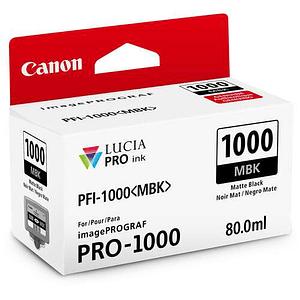 Canon PFI-1000 MBK Tinta MATTE BLACK LUCIA PRO (imagePROGRAF PRO-1000)