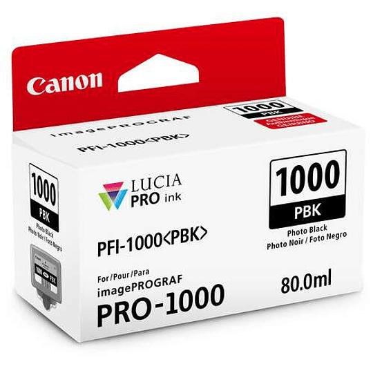 Canon PFI-1000 PBK Tinta PHOTO BLACK LUCIA PRO (imagePROGRAF PRO-1000) - Image 1