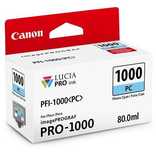 Canon PFI-1000 PC Tinta PHOTO CYAN LUCIA PRO (imagePROGRAF PRO-1000) - Image 1