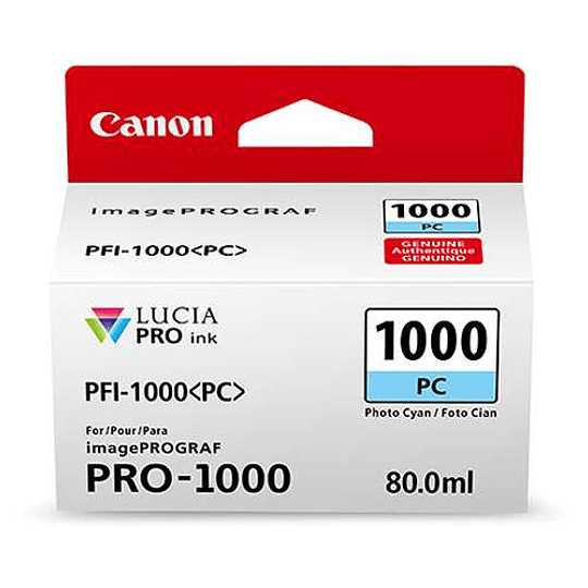 Canon PFI-1000 PC Tinta PHOTO CYAN LUCIA PRO (imagePROGRAF PRO-1000) - Image 3