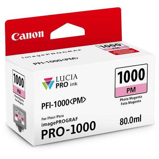 Canon PFI-1000 PM Tinta PHOTO MAGENTA LUCIA PRO (imagePROGRAF PRO-1000) - Image 1