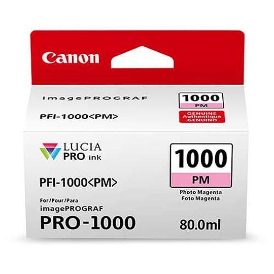 Canon PFI-1000 PM Tinta PHOTO MAGENTA LUCIA PRO (imagePROGRAF PRO-1000) - Image 2