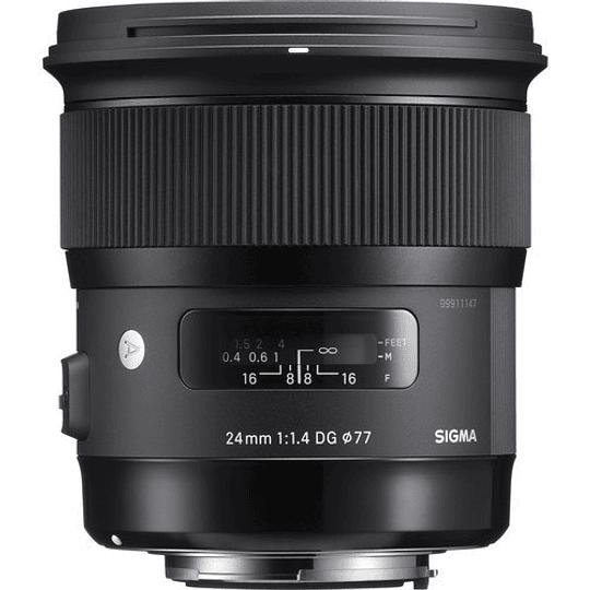 Sigma 24mm f/1.4 DG HSM Art Lente para Canon EF - Image 1