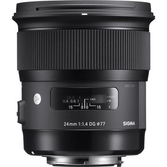 Sigma 24mm f/1.4 DG HSM Art Lente para Nikon F - Image 2