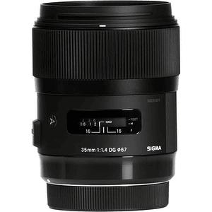 Sigma 35mm f/1.4 DG HSM Art Lente para Nikon F