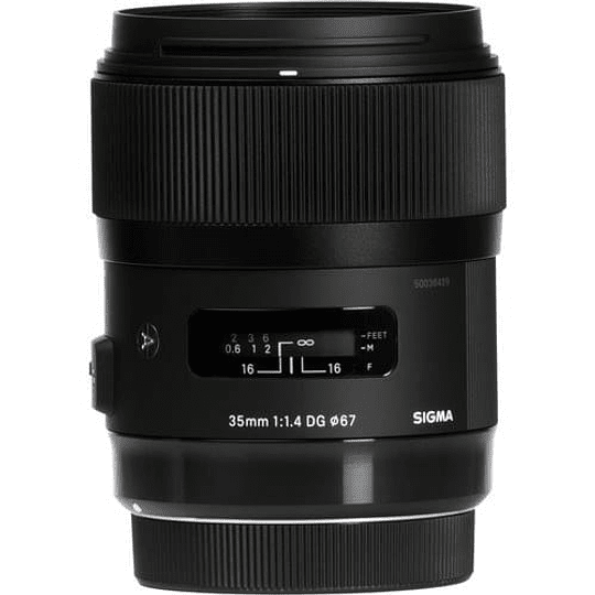 Sigma 35mm f/1.4 DG HSM Art Lente para Nikon F - Image 1