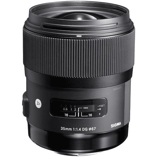Sigma 35mm f/1.4 DG HSM Art Lente para Nikon F - Image 3