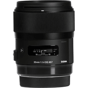Sigma 35mm f/1.4 DG HSM Art Lente para Canon EF