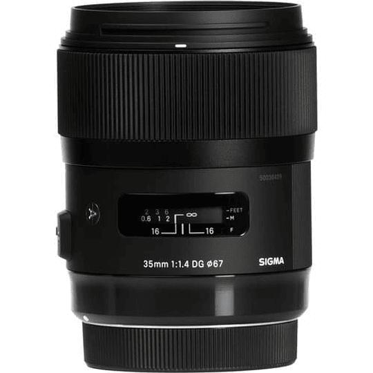 Sigma 35mm f/1.4 DG HSM Art Lente para Canon EF - Image 1