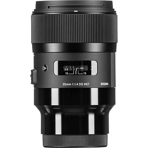 Sigma 35mm f/1.4 DG HSM Art Lente para Sony E