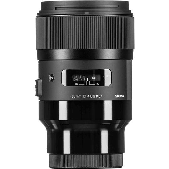 Sigma 35mm f/1.4 DG HSM Art Lente para Sony E - Image 1