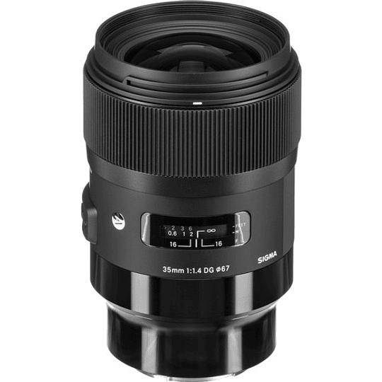 Sigma 35mm f/1.4 DG HSM Art Lente para Sony E - Image 3