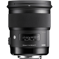 Sigma 50mm f/1.4 DG HSM Art Lente para Nikon F