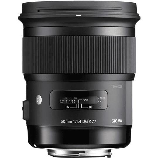 Sigma 50mm f/1.4 DG HSM Art Lente para Nikon F - Image 1
