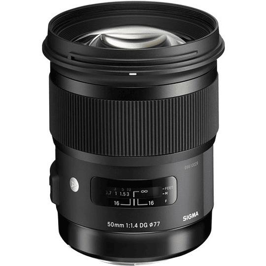 Sigma 50mm f/1.4 DG HSM Art Lente para Nikon F - Image 3