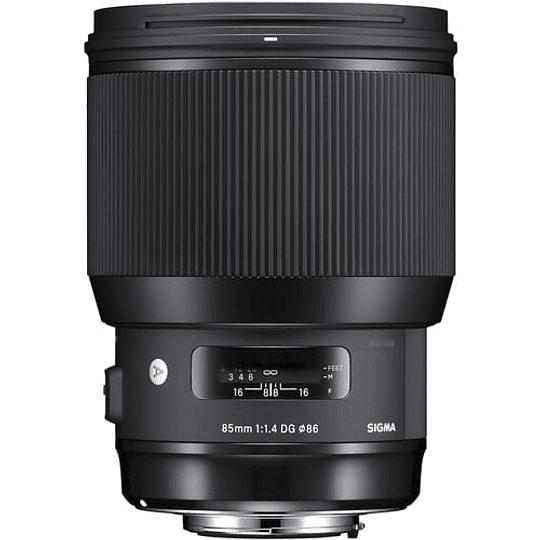 Sigma Art 85mm f/1.4 DG HSM Lente para Nikon F - Image 1